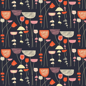 Lucienne // 1950s Floral