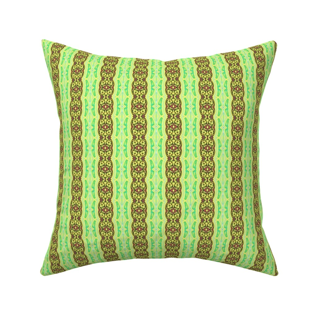 Catalan Throw Pillow featuring arabesque 169 by hypersphere