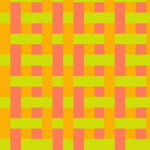 Vintage Lotus Flower On Striped Background