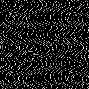 Frequency Lines | Black