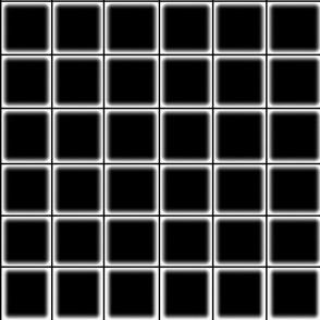 Haze Black Grid