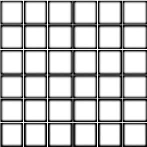 Haze White Grid