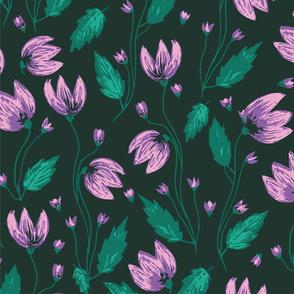 Summer Flower - Purple
