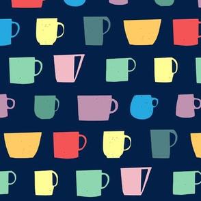 Dark mugs