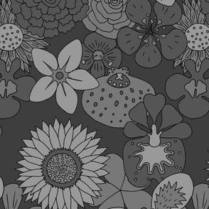 Flowerpower grayscales
