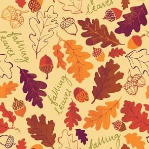 Oak Leaf Autumn