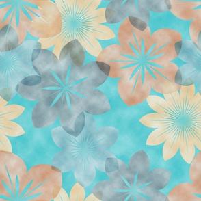 watercolortransparentflowers