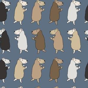 Dancing Sheep - Blue