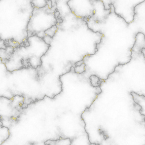 White Marble with Gold Veins 1.5