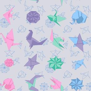 Origami Mauve