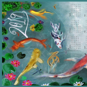 2019 Koi Kalendar