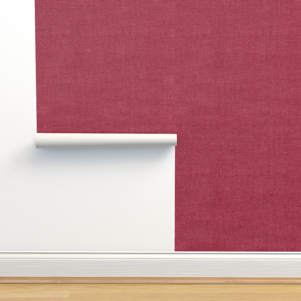 Isobar Durable Wallpaper featuring Cranberry Linen by hipkiddesigns