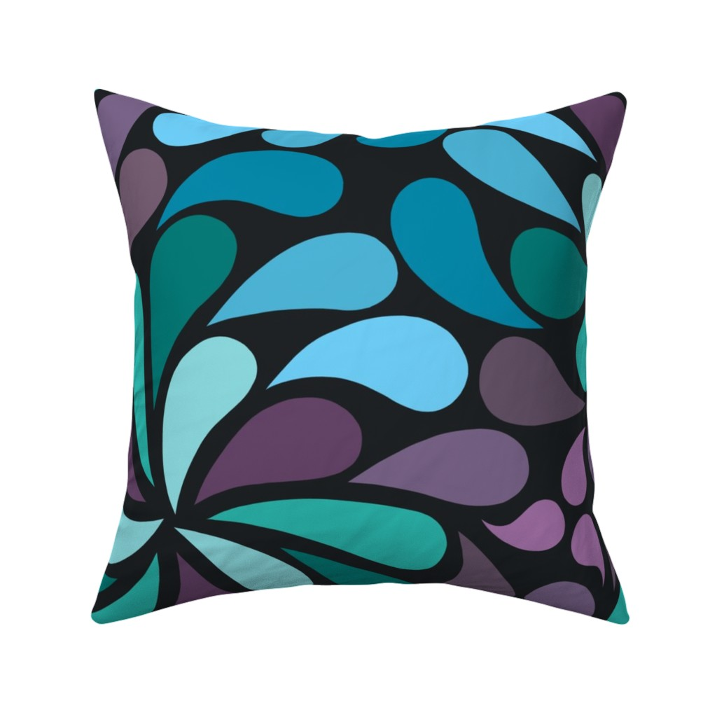 Catalan Throw Pillow featuring In a Spin - custom for rc by dustydiscoball