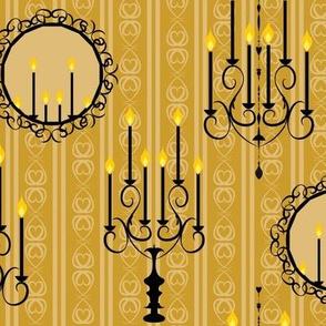 Victorian Interiors yellow
