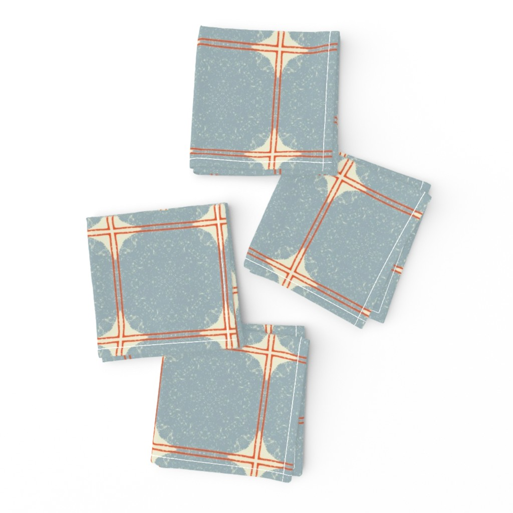 Frizzle Cocktail Napkins featuring Dot Squares M+M Slate by Friztin by friztin