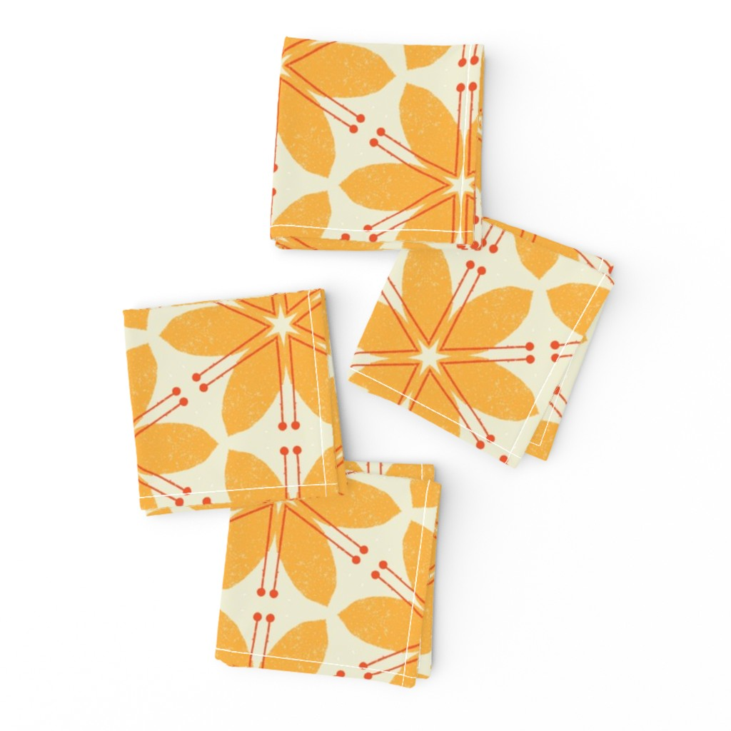 Frizzle Cocktail Napkins featuring Lilies M+M Honey by Friztin by friztin
