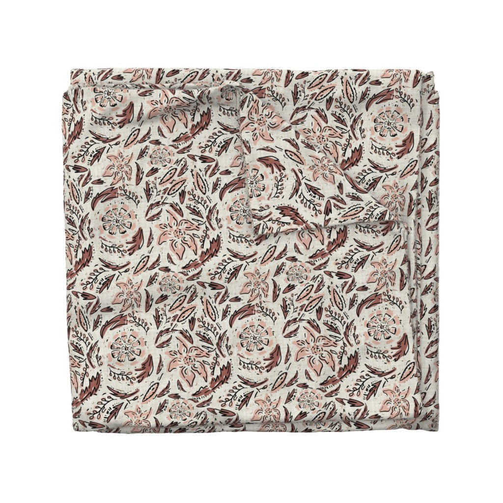 Wyandotte Duvet Cover featuring INDIE FLORAL by holli_zollinger