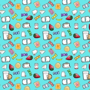 Kawaii Tea Party (color)