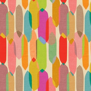 Mid Century Droplets {Kaleidoscope} - medium