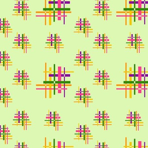 Sixties hashtag mint background