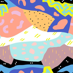Abstract Postmodern Landscape