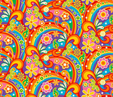1960_Psychedelic Flower Power