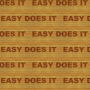 Wood Tone Easy Does It