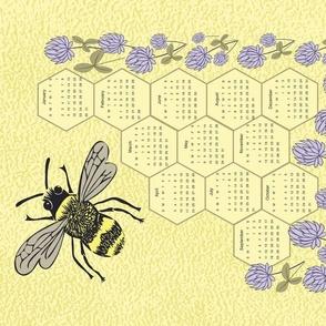 2020  bee calendar