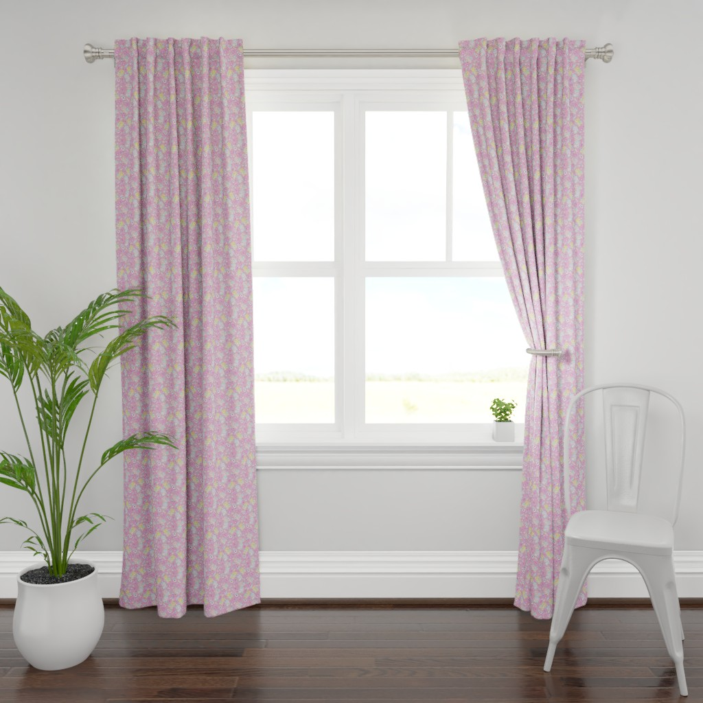 Plymouth Curtain Panel featuring Yami Kawaii Teddy Bears by FrostedSoSweet by noeldraws