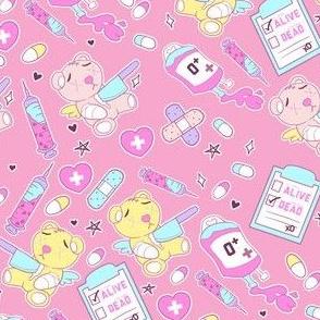 Yami Kawaii Teddy Bears by FrostedSoSweet