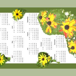 2019  Black Eyed Susan calendar 1ch