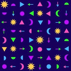 Geometric - Modern Magic Dark