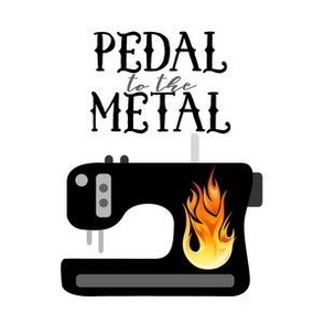 Pedal to the Metal - White