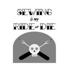 Ride or Die - White