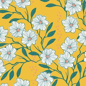 Wild Vines { lemon yellow }