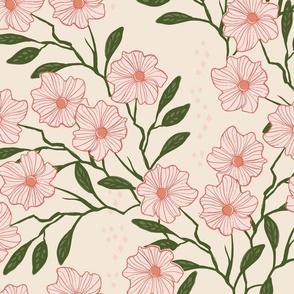 Wild Vines { pinks }