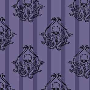 Simple Cthulhu Purple Stripe