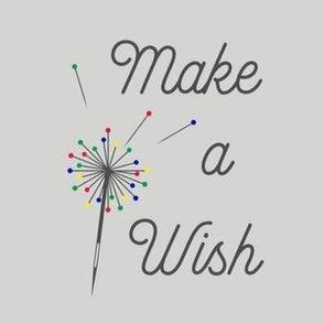 Make a Wish - Grey