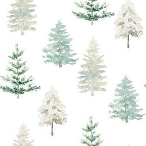 "8"" Winter Forest // White"