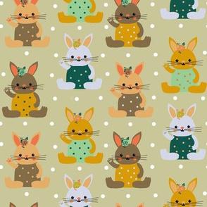 rabbitini cotton candy dots
