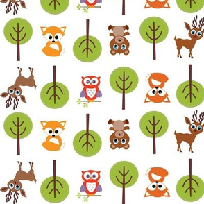 Baby Forest Animals