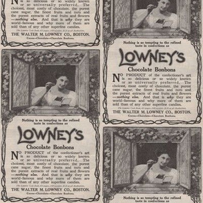 1910 Chocolate  advertisement