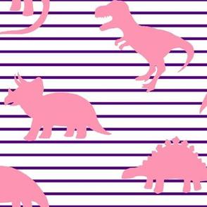 Dino Purple Stripe