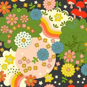 Cosmic Flowering