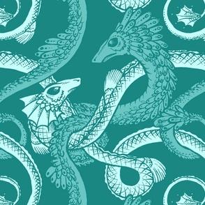 dragones teal