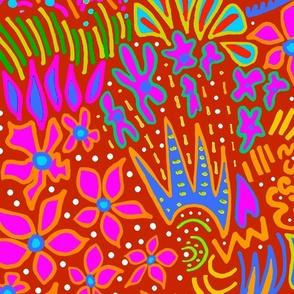 Symbols - Viking Runes - Navy