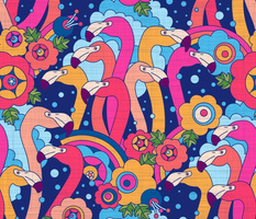 For the love of flamingo