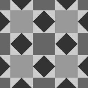 07919656 : square triangle tiles : grey
