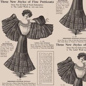 Petticoat Bird Lady