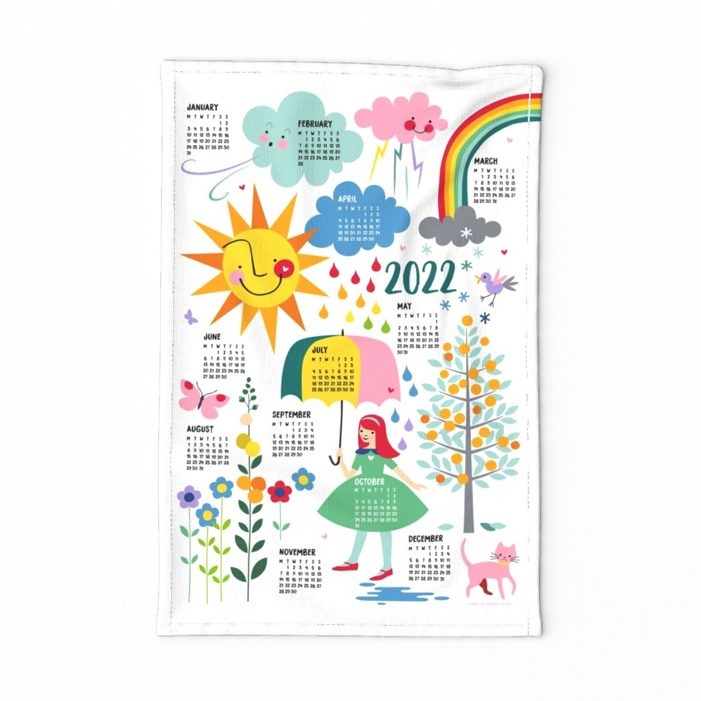 2020 (ENGLISH) Whatever The Weather calendar on Special
